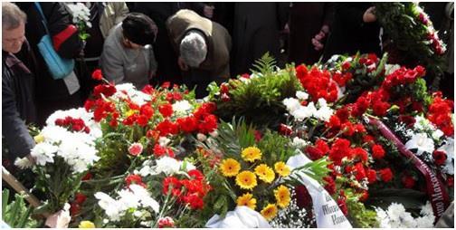 Плач на похоронах