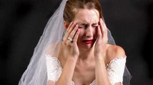 несостоявшаяся свадьба во сне