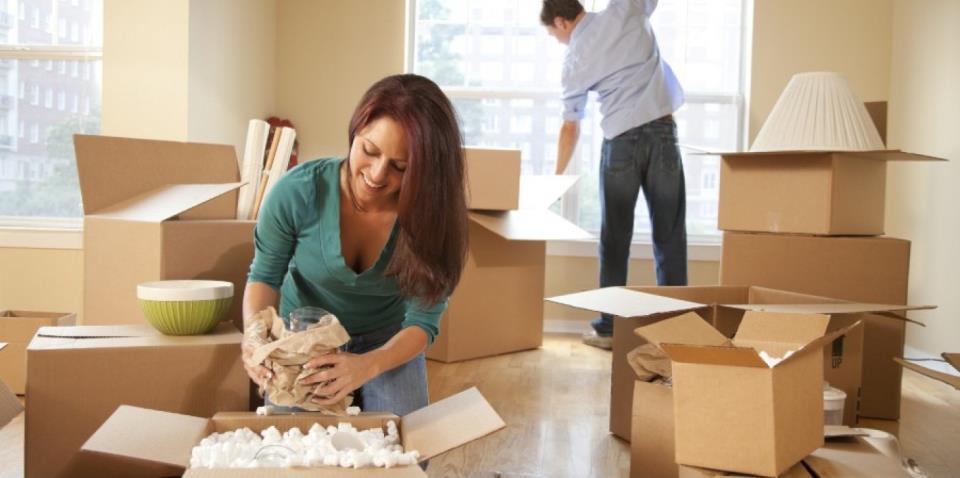 подготовка вещей к переезду