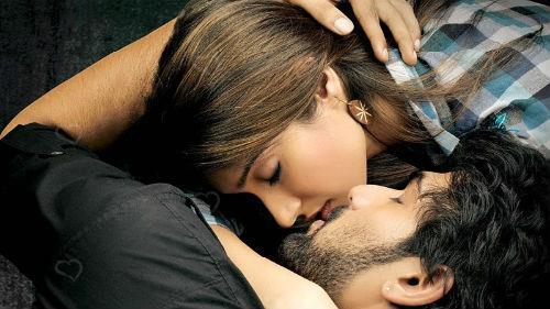 поцелуй с девушкой которая нравится