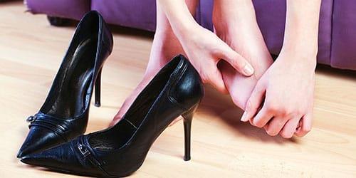 голые ступни