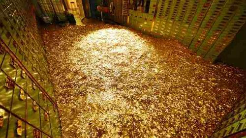 золото много видеть во сне
