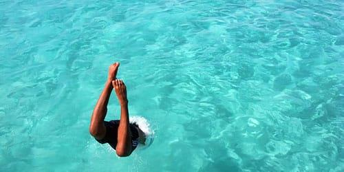 сонник нырять в воду