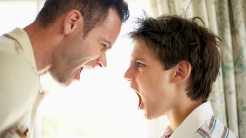 ссора с неродным отцом