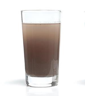 Мутная вода в стакане