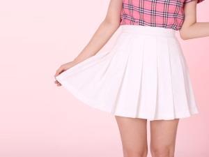 Белая юбка - к обновкам