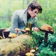 парень ботаник
