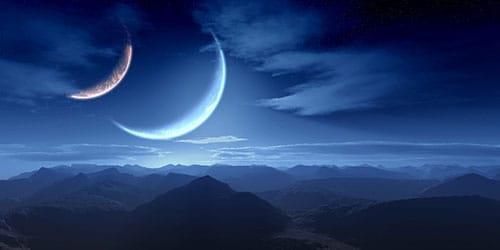 к чему снятся две луны