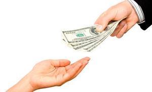 Отдавать деньги