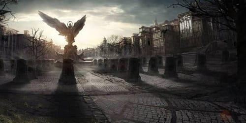 Заблудиться на кладбище во сне фото