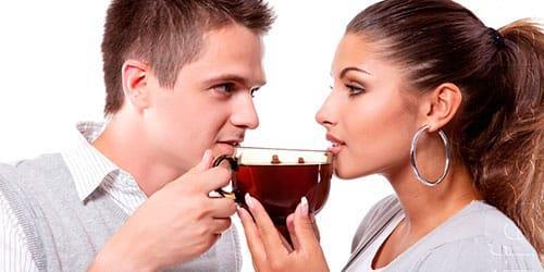 пить чай с мужчиной во сне
