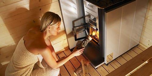 топить печь в бане
