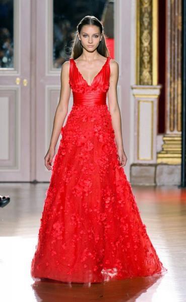 Сонник платье красно черное