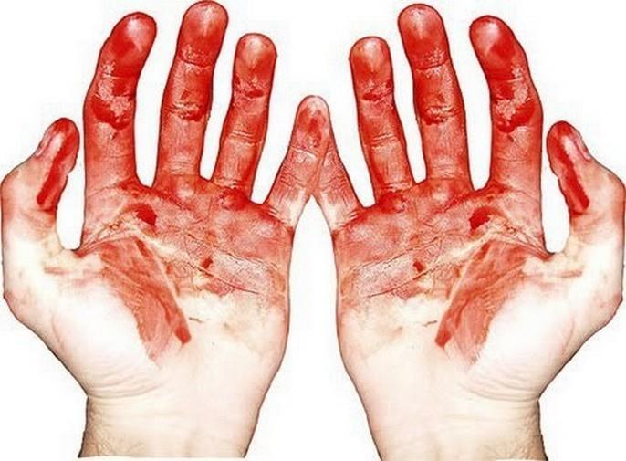 Фото К чему снится кровь чужого человека