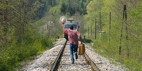 опоздавший пассажир