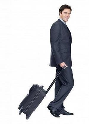 Пришел с чемоданом