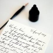 Писать письмо