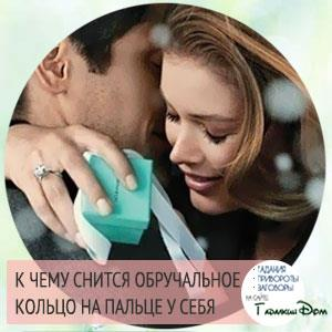 к чему снится обручальное кольцо на пальце мужчины