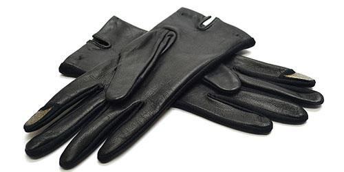 черные перчатки