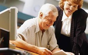Рабочий пенсионер