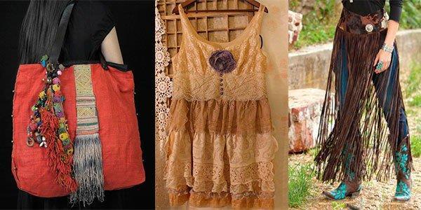 из старых вещей сами делаем модную одежду в стиле Бохо