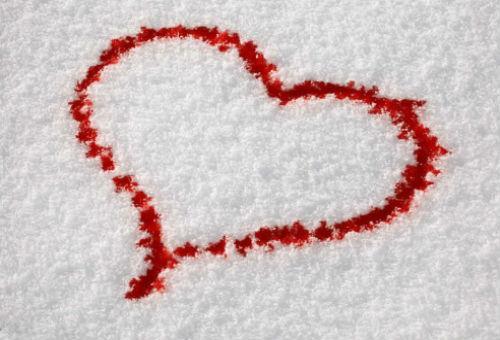 кровь на снегу во сне