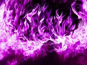 Сонник. Приснилось фиолетовое пламя