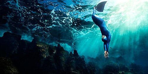 морская глубина