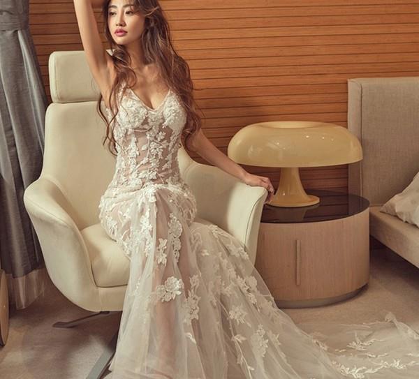 Во сне прозрачное платье