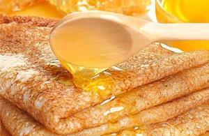 Блины с мёдом