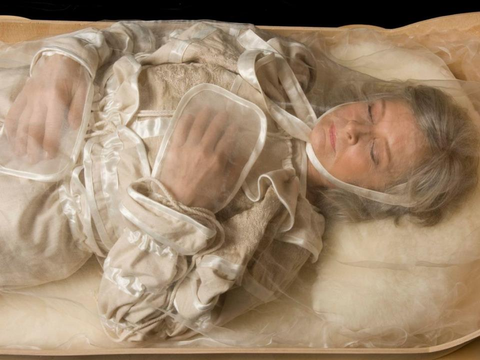 Сначала во сне я не осознала что он мертв, а когда вспомнила об этом — проснулась.