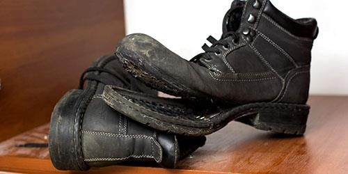отклеилась подошва обуви во сне