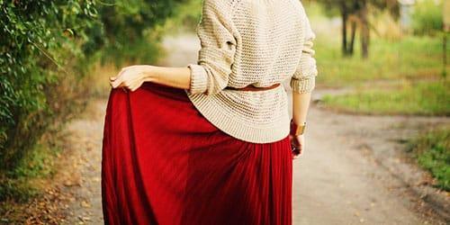 сонник длинная юбка