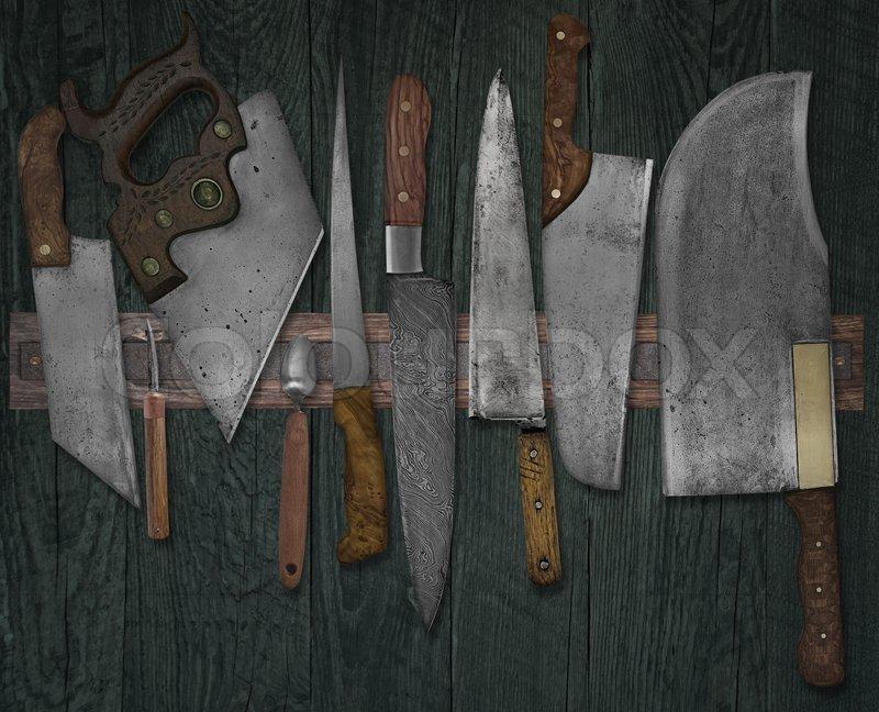 сон нож