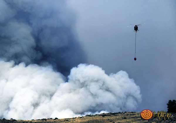 Пожар без огня - дым
