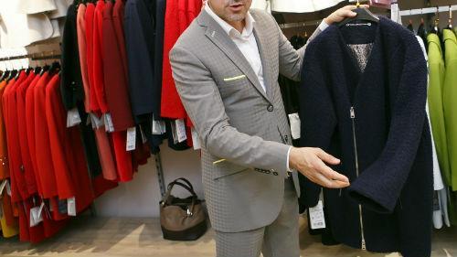 муж в новой одежде