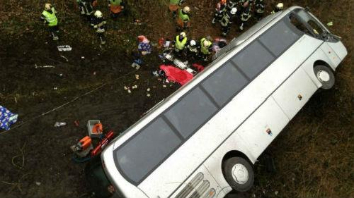 автокатастрофа пассажирского транспорта