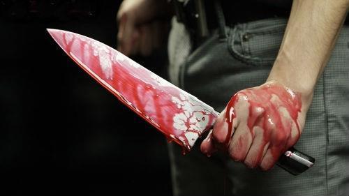 мужа убили ножом