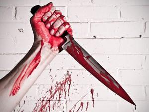 Убийство ножом - к конфликту в семье