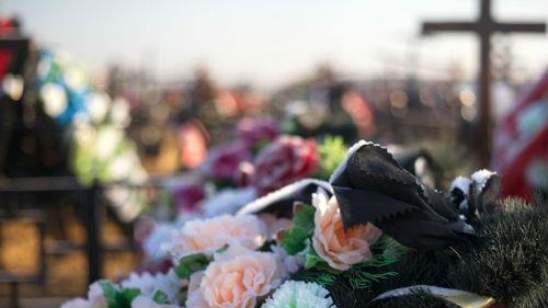 похороны супруга