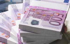 Пачки по 50 тысяч евро