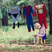 Мальчик и костюмы