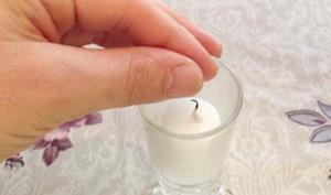 Тушить свечу