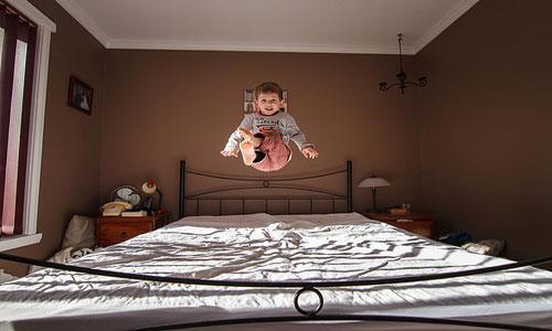 К чему снится прыгать на кровати фото