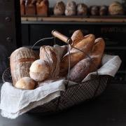 Корзинка с хлебом