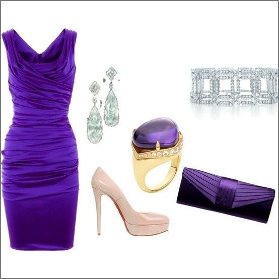 К чему снится фиолетовая одежда фото