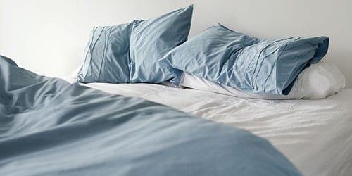 смятая постель