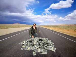 Нахождение денег на дороге во сне