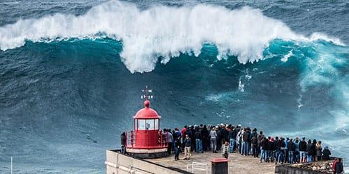 к чему снятся большие волны