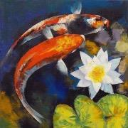 Нарисованные рыбки